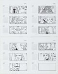 Original Comic Art:Miscellaneous, Dan Fraga Fantastic Four: Rise of the Silver SurferStoryboards Original Art Group of 26 (Fox Studios, 2007)....(Total: 26 Original Art)