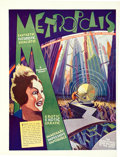 "Movie Posters:Science Fiction, Metropolis (Paramount, 1927). Trade Ad (9.25"" X 12.25"").. ..."