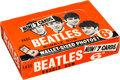 Music Memorabilia:Memorabilia, Beatles A&BC Second Series Bubble Gum Cards Store Display Box Complete with Twenty-four Sealed Packs (UK, 1965). ...