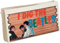 "Music Memorabilia:Memorabilia, Beatles Topps ""Plaks"" Complete Set of Fifty-Five Colorful Cards(US, 1964). ..."