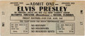 Music Memorabilia:Tickets, Elvis Presley Olympia Theatre, Miami, August 3, 1956 ConcertTicket....