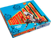 1972 Topps Football Series 3 Wax Box With 24 Unopened Packs