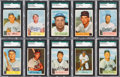 Baseball Cards:Sets, 1954 Bowman Baseball Complete Set (224) With #66 Ted Williams....