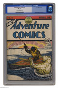 Golden Age (1938-1955):Adventure, New Adventure Comics #31 (DC, 1938) CGC VG 4.0 Cream to off-white pages. The final issue of this title; the name would chang...