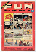 Golden Age (1938-1955):Adventure, New Fun Comics #1 (DC, 1935) Condition: GD. One of the most historically important comic books ever published, New Fun #...