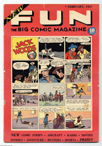New Fun Comics #1 (DC, 1935) Condition: GD. One of the most historically important comic books ever published, New Fun #...