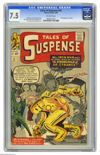 Tales of Suspense #41 (Marvel, 1963) CGC VF- 7.5 Off-white pages. In Iron Man's third appearance, Shellhead takes on the...