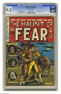 Golden Age (1938-1955):Horror, Haunt of Fear #10 (EC, 1951) CGC NM- 9.2 Off-white pages. Thisissue's lead story was reportedly the first time Graham Ingel...