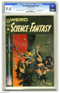 Golden Age (1938-1955):Science Fiction, Weird Science-Fantasy #29 (EC, 1955) CGC NM 9.4 Off-white to whitepages. Russ Cochran called this issue's Frank Frazetta co...