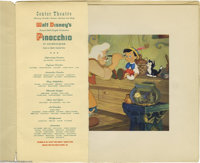 Pinocchio Courvoisier Gallery Prints and Original Cover (RKO, 1940). With the tremendous box office success in 1938 of &...