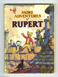 More Adventures of Rupert (Daily Express, undated). The cover of this lovely Daily Express Publications edition features...