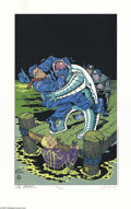 Memorabilia:Comic-Related, Will Eisner - The Spirit: New Adventures Limited Edition Print Set, Group of 4 (Kitchen Sink Press, 1997). Will Eisner's ren... (4 items)