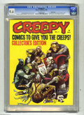 Magazines:Horror, Creepy #1 Pacific Coast pedigree (Warren, 1964) CGC NM+ 9.6 Off-white pages. Warren Publishing's concept for its first full-...