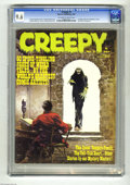 Magazines:Horror, Creepy #3 (Warren, 1965) CGC NM+ 9.6 Off-white to white pages. Frank Frazetta cover. Art by Jack Davis, Angelo Torres, Reed ...