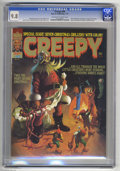 Magazines:Horror, Creepy #68 (Warren, 1975) CGC NM/MT 9.8 Off-white to white pages. Christmas (horror) issue. Ken Kelly cover. Bernie Wrightso...