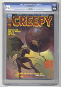 """Magazines:Horror, Creepy #75 (Warren, 1975) CGC NM+ 9.6. Includes the story """"Thrillkill,"""" drawn by Neal Adams, which was named the best Warren..."""