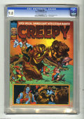 Magazines:Horror, Creepy #82 (Warren, 1976) CGC NM/MT 9.8 Off-white to white pages. All Esteban Maroto issue. 1976 yearbook. Only copy certifi...