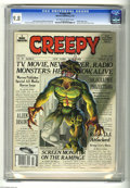 Magazines:Horror, Creepy #98 (Warren, 1978) CGC NM/MT 9.8 Off-white to white pages. Carmine Infantino and Dick Giordano art. Attila Hejje cove...