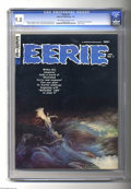 Magazines:Horror, Eerie #7 (Warren, 1967) CGC NM/MT 9.8 Off-white to white pages. Frank Frazetta cover. Interior art by Gray Morrow, Gene Cola...