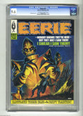 Magazines:Horror, Eerie #14 (Warren, 1968) CGC NM+ 9.6 Off-white to white pages. Wally Wood, Dan Adkins, Alex Toth, Reed Crandall, Angelo Torr...