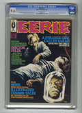 Magazines:Horror, Eerie #16 (Warren, 1968) CGC NM+ 9.6 Off-white pages. Richard Corben and Bruce Jones offer fan page art in this issue. Far a...