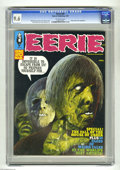 "Magazines:Horror, Eerie #20 (Warren, 1969) CGC NM+ 9.6 Off-white pages. Adaptation of Edgar Allan Poe's ""The Fall of the House of Usher"" with ..."