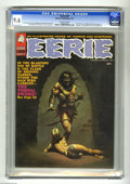 Magazines:Horror, Eerie #29 (Warren, 1970) CGC NM+ 9.6 Off-white pages. Ken Kelly cover. Jack Sparling, Tom Sutton, and Rich Buckler art. Firs...