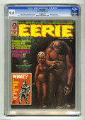 Magazines:Horror, Eerie #32 (Warren, 1971) CGC NM/MT 9.8 Off-white pages. Richard Corben cover. Corben, Tom Sutton, and Jack Sparling art. Ove...