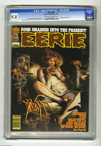 Eerie #89 (Warren, 1978) CGC NM/MT 9.8 Off-white to white pages. The grade doesn't lie; this is just about as perfect a...