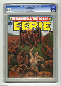 Magazines:Horror, Eerie #103 (Warren, 1979) CGC NM/MT 9.8 Off-white to white pages. Paul Gulacy, Val Mayerik, and Lee Elias art. Overstreet 20...