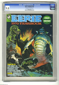 Eerie Yearbook 1970 (Warren, 1970) CGC NM/MT 9.8 Off-white to white pages. Art by Steve Ditko, Jack Davis, Gene Colan, A...