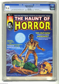 The Haunt of Horror #1 (Marvel, 1974) CGC NM+ 9.6 White pages. Bob Larkin cover. Alfredo Alcala frontispiece. Ralph Rees...