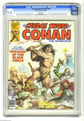 Magazines:Miscellaneous, Savage Sword of Conan #16 (Marvel, 1976) CGC NM/MT 9.8 White pages.Earl Norem cover. Barry Smith, John Buscema, Alfredo Alc...