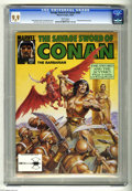 Magazines:Miscellaneous, Savage Sword of Conan #202 (Marvel, 1992) CGC MT 9.9 White pages.Earl Norem cover. John Buscema and Ernie Chan art. King Ku...