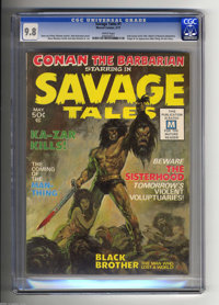 Savage Tales #1 (Marvel, 1971) CGC NM/MT 9.8 White pages. While much has been written about the near-simultaneous debuts...