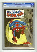 Magazines:Superhero, Spectacular Spider-Man #1 (Marvel, 1968) CGC NM/MT 9.8 Off-white pages. This Marvel experiment with a magazine format only l...