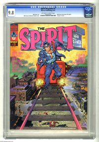 The Spirit #3 (Warren, 1974) CGC NM/MT 9.8 Off-white to white pages. Will Eisner cover, colored by Richard Corben. Eisne...