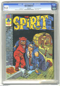 Magazines:Superhero, The Spirit #7 (Warren, 1975) CGC NM/MT 9.8 White pages. Will Eisner cover, colored by Ken Kelly. Eisner art. Includes 8 page...