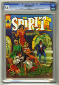 "Magazines:Superhero, The Spirit #8 (Warren, 1975) CGC NM/MT 9.8 White pages. ""Headlight"" cover by Will Eisner, colored by Ken Kelly. Eisner inter..."