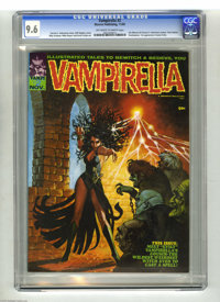 Vampirella #2 (Warren, 1970) CGC NM+ 9.6 Off-white to white pages. Vampirella's Cousin Evily made her first appearance i...