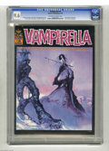 Magazines:Horror, Vampirella #4 (Warren, 1969) CGC NM+ 9.6 Off-white to white pages. This early Vampi issue boasts a Jeff Jones and Vaughn Bod...