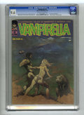 Magazines:Horror, Vampirella #5 (Warren, 1970) CGC NM+ 9.6 Off-white pages. Frank Frazetta was reportedly given free rein in choosing the subj...
