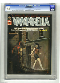 Vampirella #6 (Warren, 1970) CGC NM/MT 9.8 Off-white pages. Not only is this the only 9.8 copy of #6 yet certified by CG...
