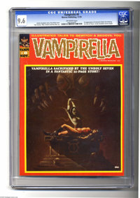 Vampirella #8 (Warren, 1970) CGC NM+ 9.6 Off-white pages. Vampirella appeared as a serious character for the first time...