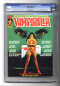 Magazines:Horror, Vampirella #49 (Warren, 1976) CGC NM+ 9.6 Off-white to white pages. First appearance of the Blood Red Queen of Hearts (Vampi...