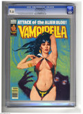 Magazines:Horror, Vampirella #75 (Warren, 1979) CGC NM+ 9.6 Off-white to white pages. Jose Gonzalez cover and art. Overstreet 2005 NM- 9.2 val...