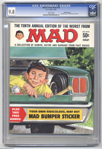 Worst From Mad #10 White Mountain pedigree (EC, 1967) CGC NM/M 9.8 White pages. The Gaines File copies aren't the only p...