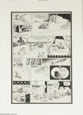 Original Comic Art:Comic Strip Art, George Herriman - Krazy Kat Sunday Comic Strip Original Art, dated 5-9 (King Features Syndicate). Considered by many aficion...