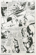 Original Comic Art:Panel Pages, Neal Adams - The Brave and the Bold #79, page 3 Original Art (DC,1968). A tense moment between Commissioner Gordon and the ...