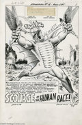 Original Comic Art:Splash Pages, Murphy Anderson - Hawkman #15, page 1 Original Art (DC, 1966). Thememories of two billion years seethe in his brain, and hi...